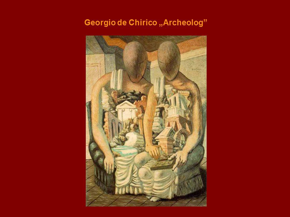 """Georgio de Chirico """"Archeolog"""