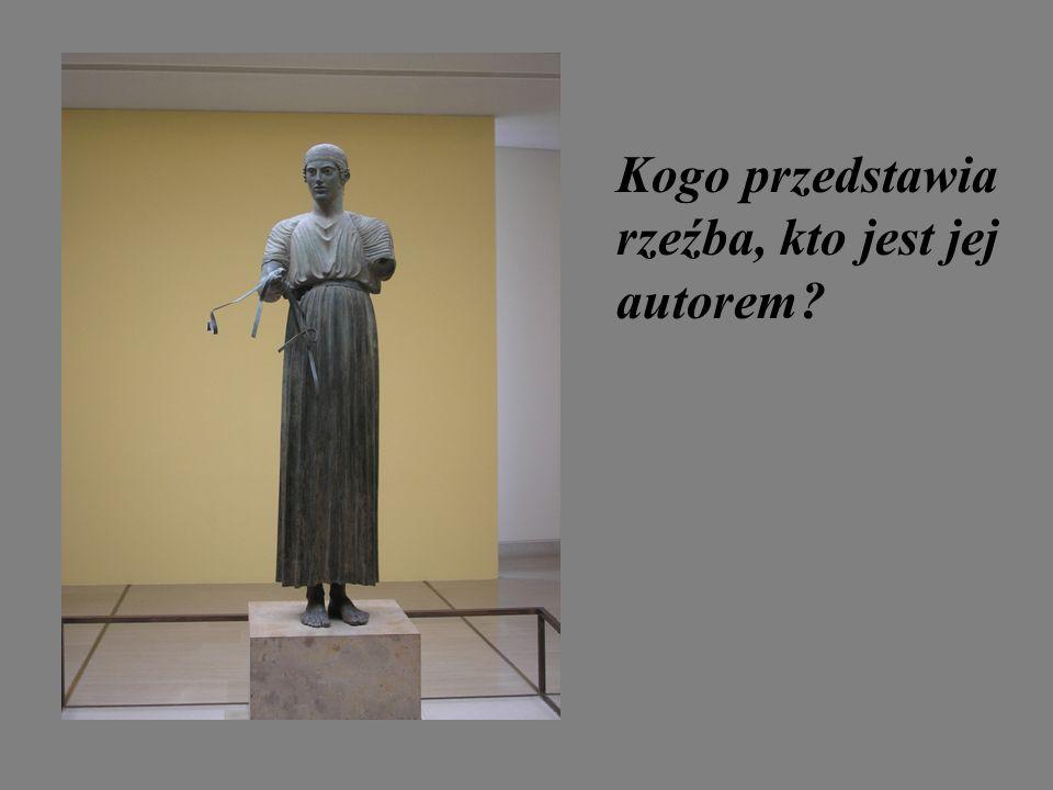 Kogo przedstawia rzeźba, kto jest jej autorem