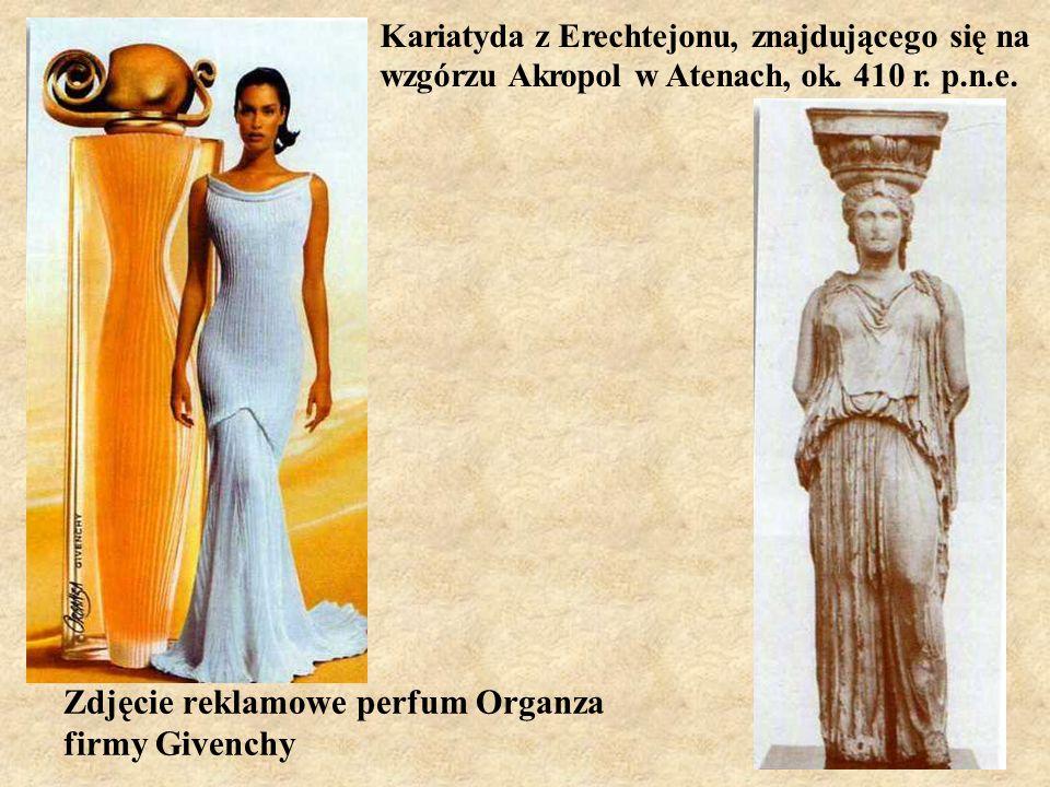 Zdjęcie reklamowe perfum Organza firmy Givenchy