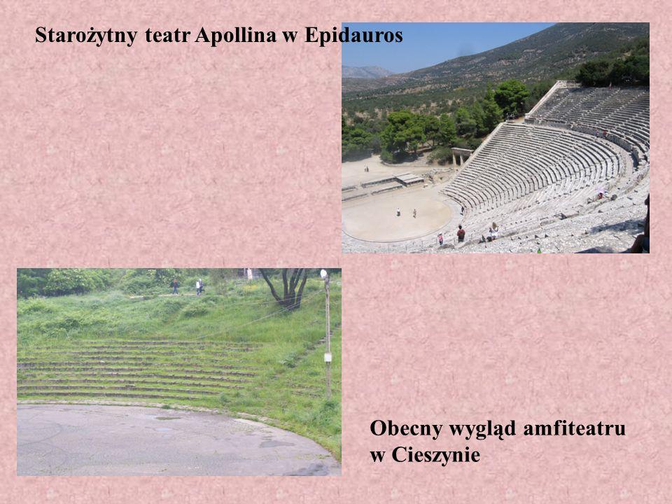 Starożytny teatr Apollina w Epidauros