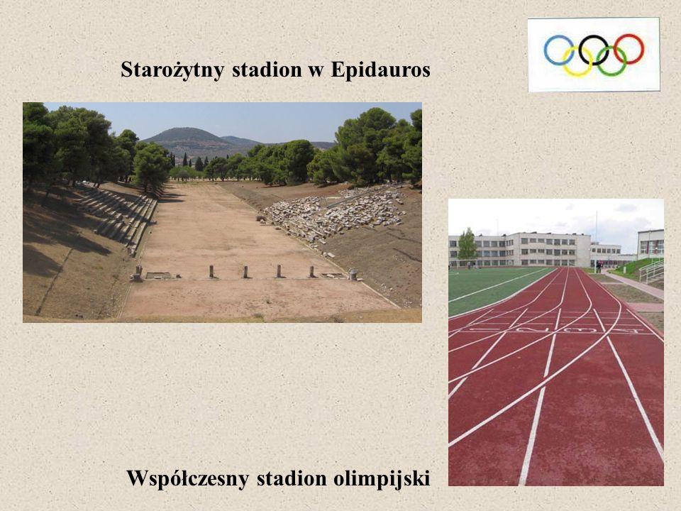 Starożytny stadion w Epidauros