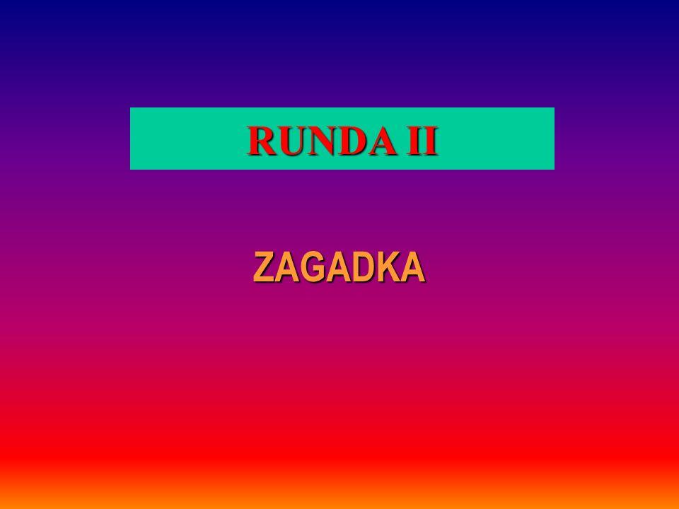 RUNDA II ZAGADKA