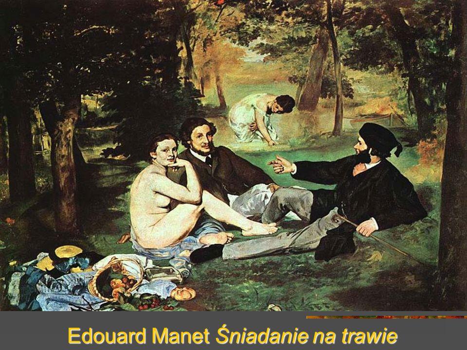 Edouard Manet Śniadanie na trawie