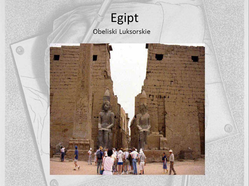 Egipt Obeliski Luksorskie 9