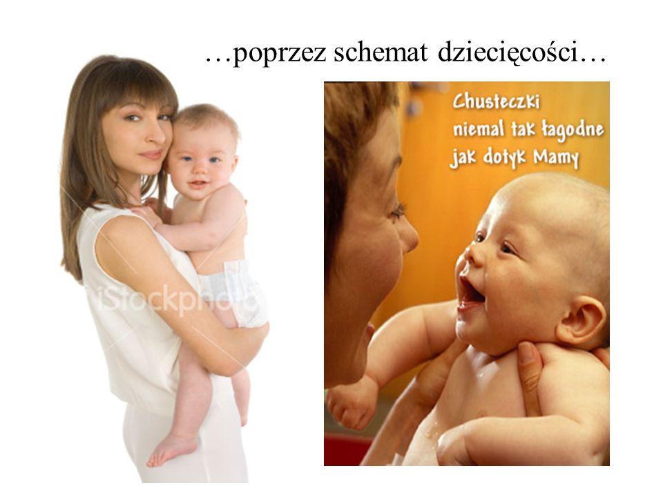 …poprzez schemat dziecięcości…