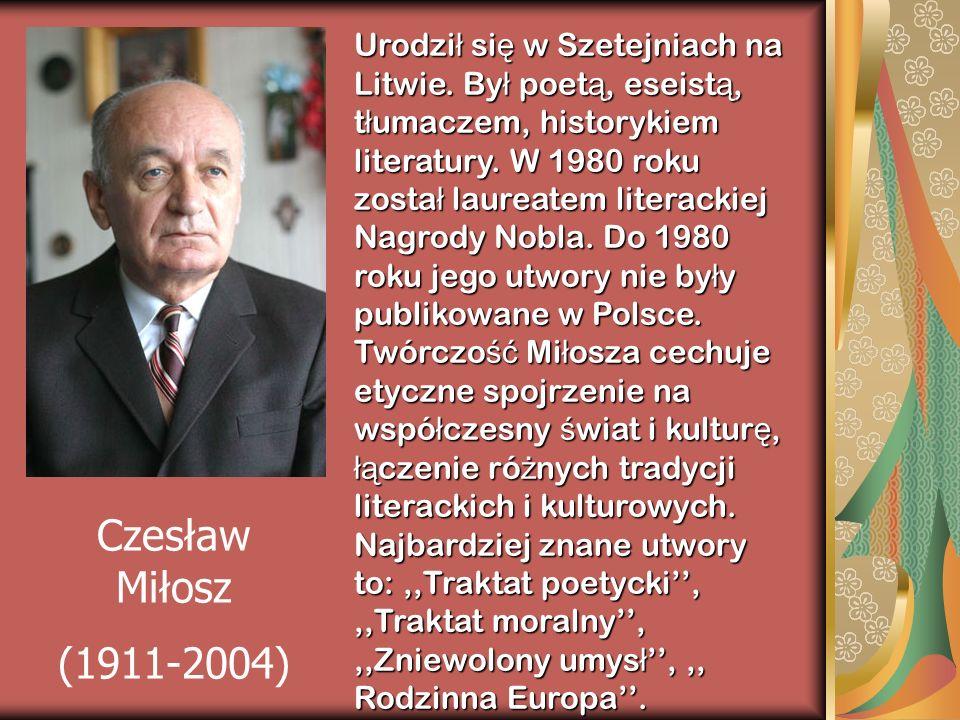 Urodził się w Szetejniach na Litwie