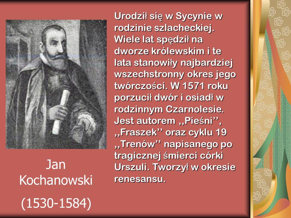 Urodził się w Sycynie w rodzinie szlacheckiej