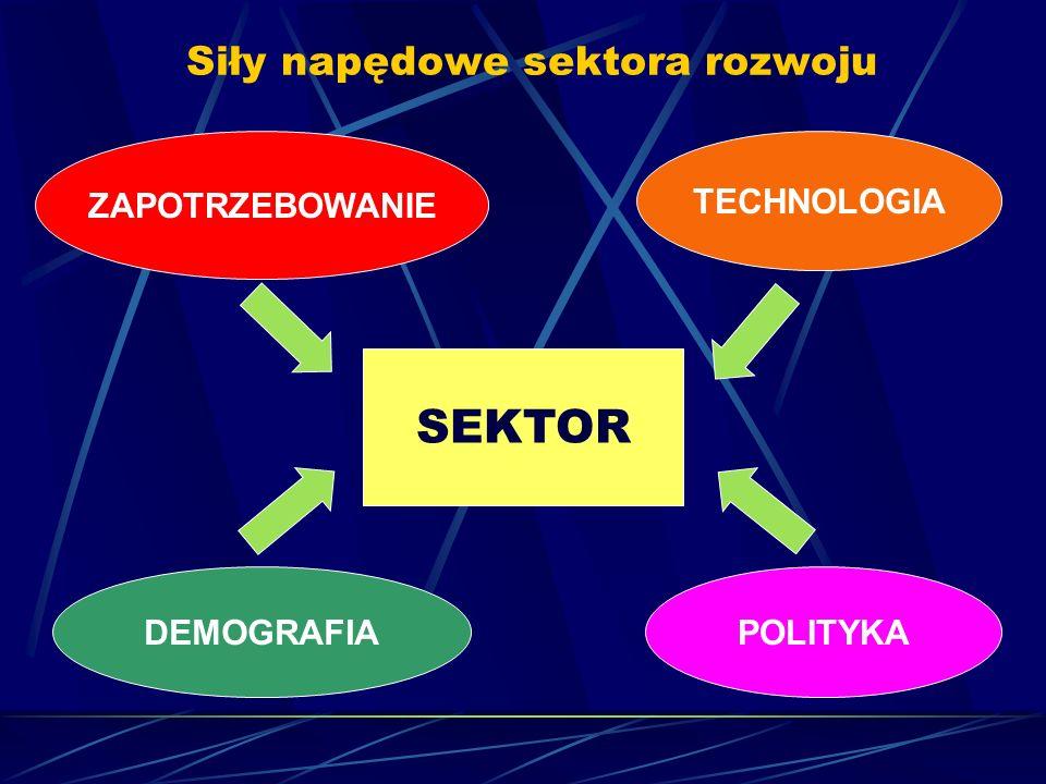 Siły napędowe sektora rozwoju