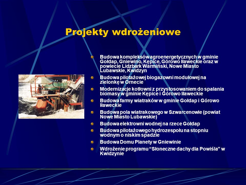 Projekty wdrożeniowe