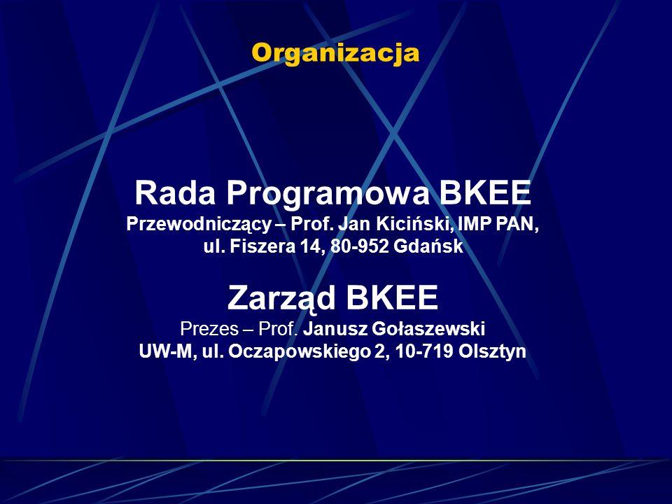 Przewodniczący – Prof. Jan Kiciński, IMP PAN,