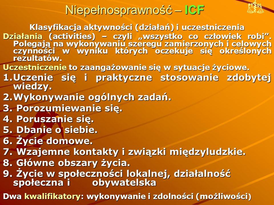 Niepełnosprawność – ICF