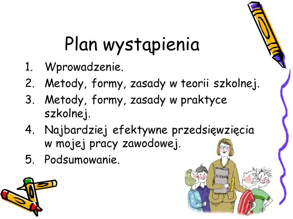 Plan wystąpienia Wprowadzenie.
