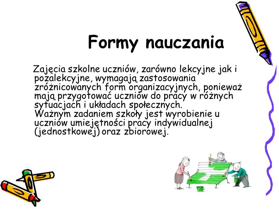 Formy nauczania