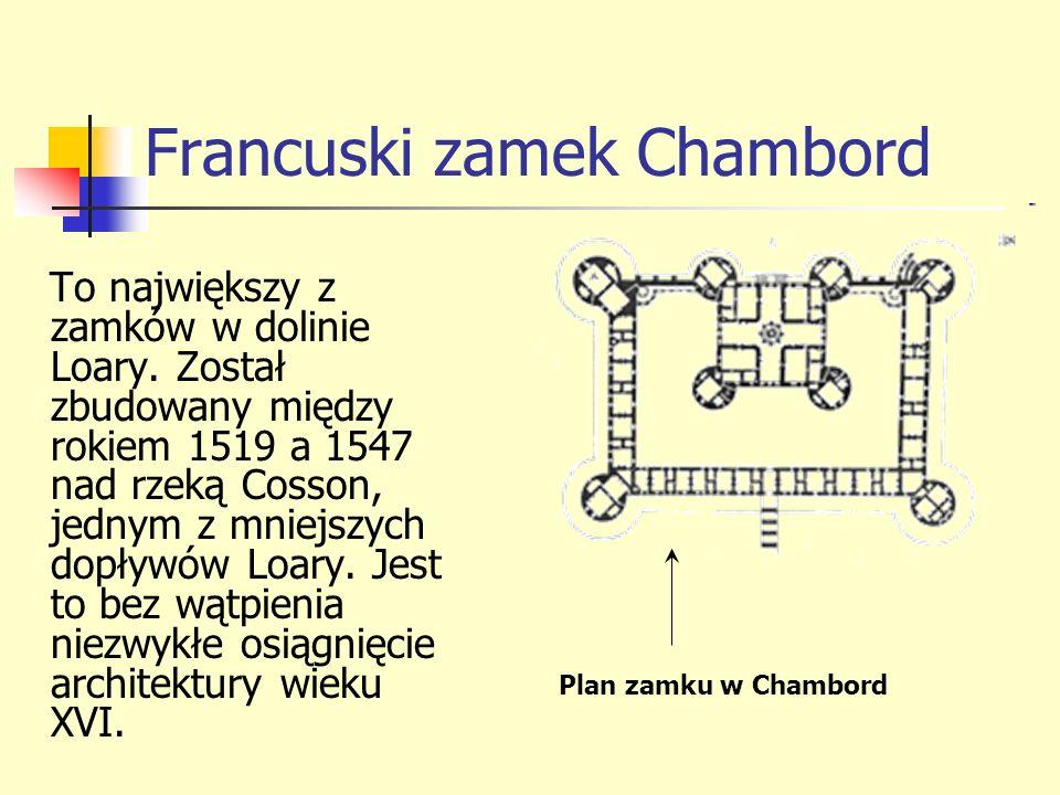 Francuski zamek Chambord