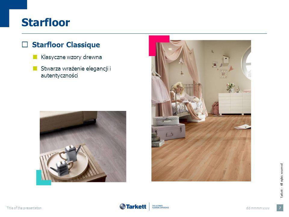 Starfloor Starfloor Classique Klasyczne wzory drewna