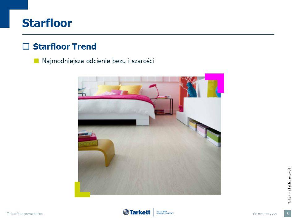 Starfloor Starfloor Trend Najmodniejsze odcienie beżu i szarości