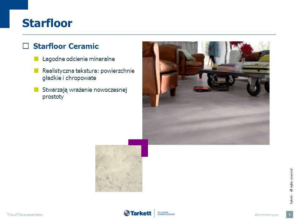 Starfloor Starfloor Ceramic Łagodne odcienie mineralne