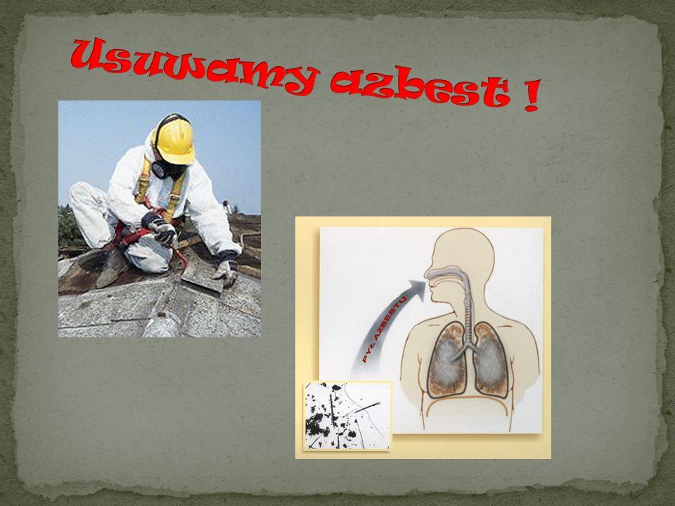 Usuwamy azbest !