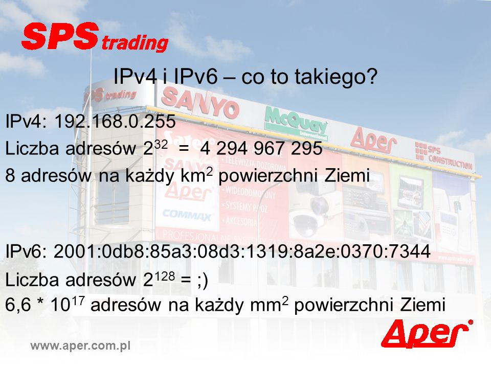 IPv4 i IPv6 – co to takiego IPv4: 192.168.0.255