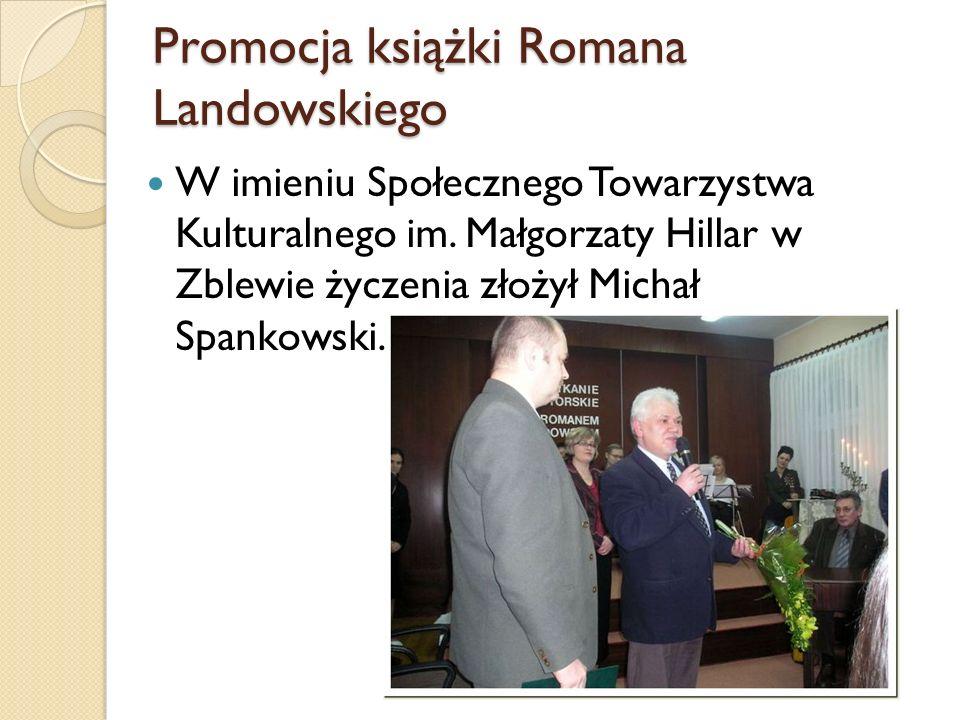 Promocja książki Romana Landowskiego