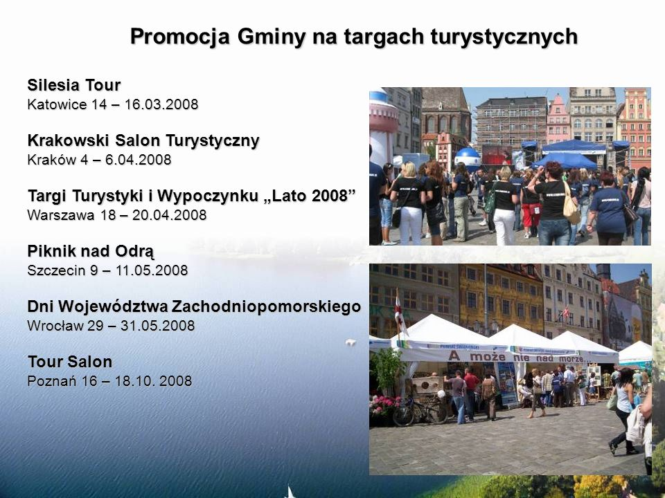 Promocja Gminy na targach turystycznych