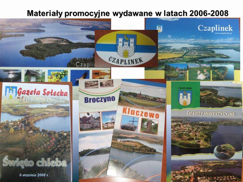 Materiały promocyjne wydawane w latach 2006-2008