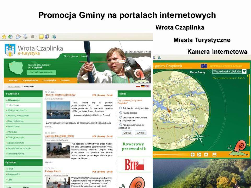 Promocja Gminy na portalach internetowych