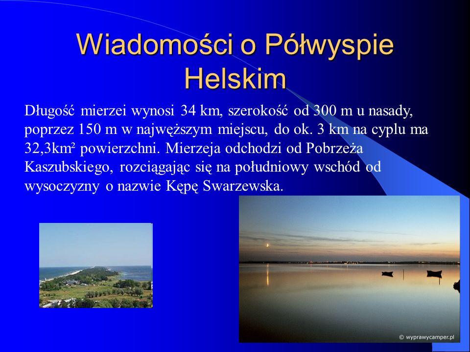 Wiadomości o Półwyspie Helskim