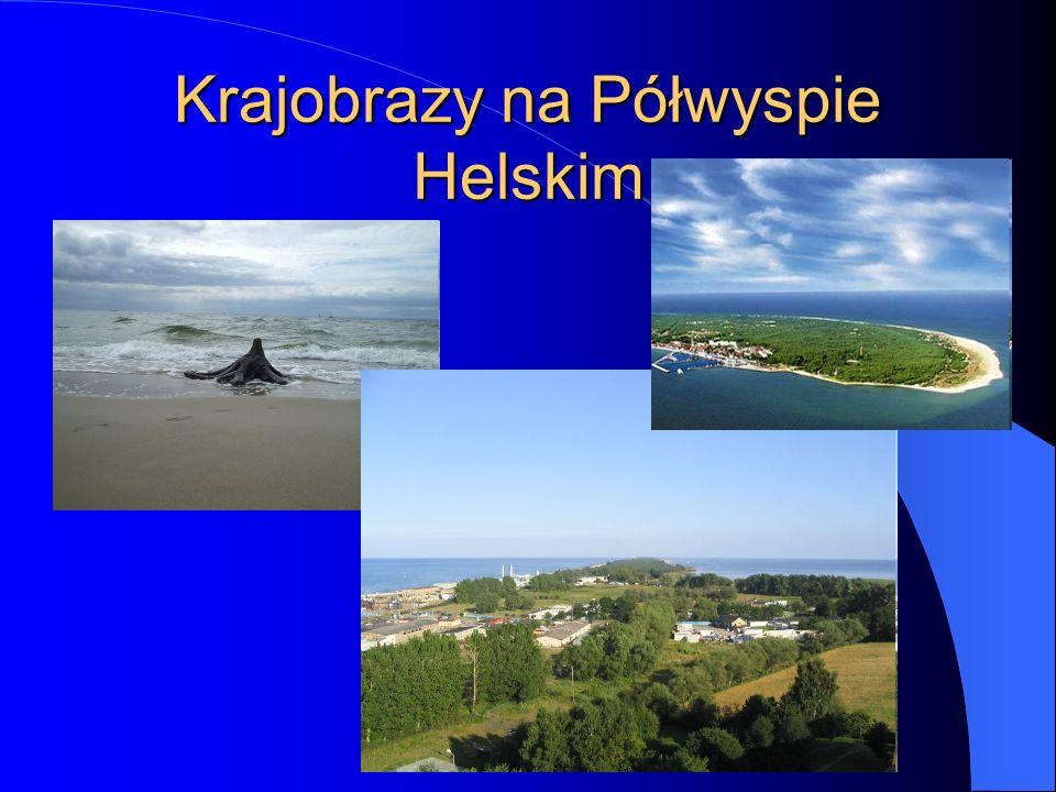 Krajobrazy na Półwyspie Helskim