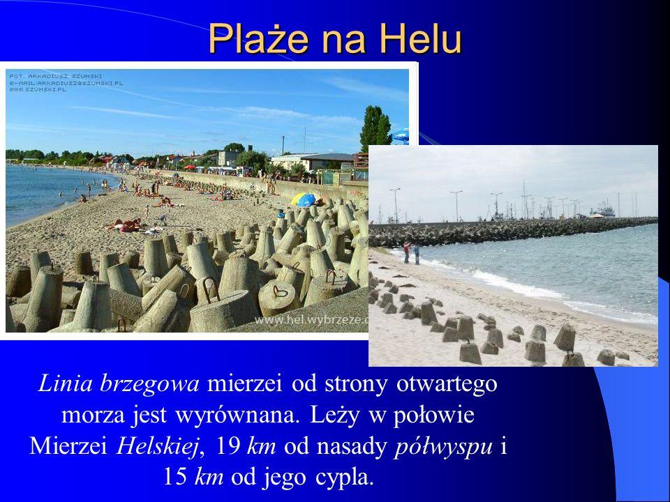 Plaże na Helu