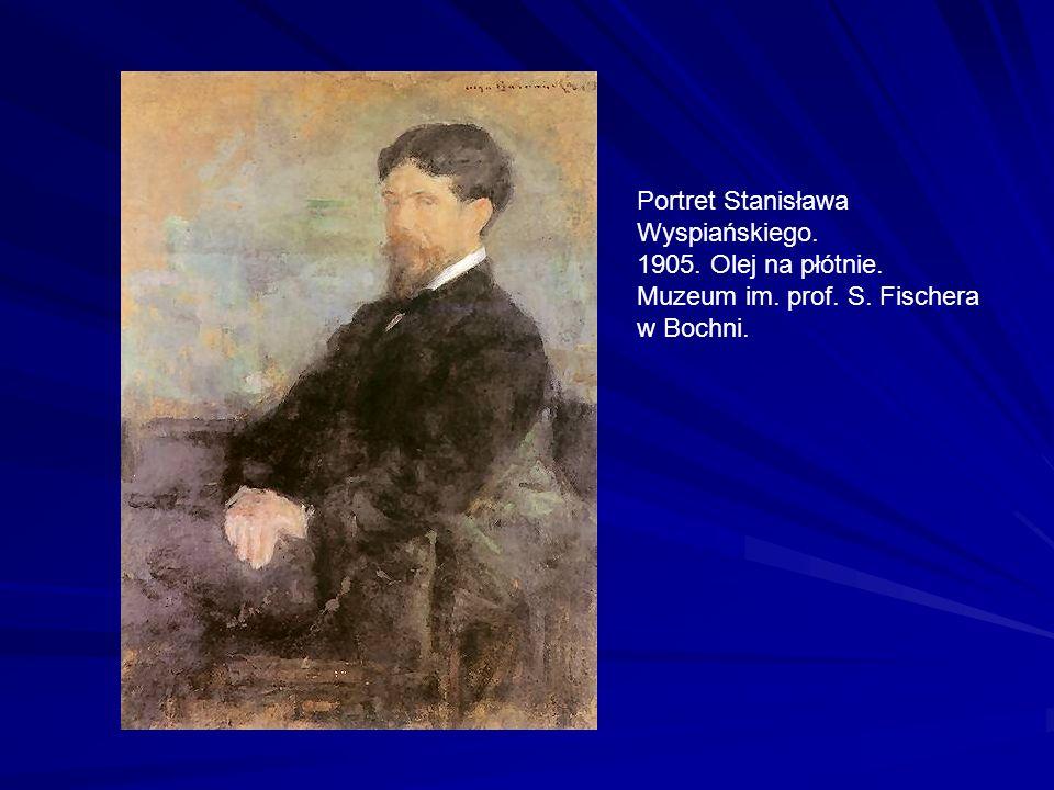 Portret Stanisława Wyspiańskiego. 1905. Olej na płótnie. Muzeum im