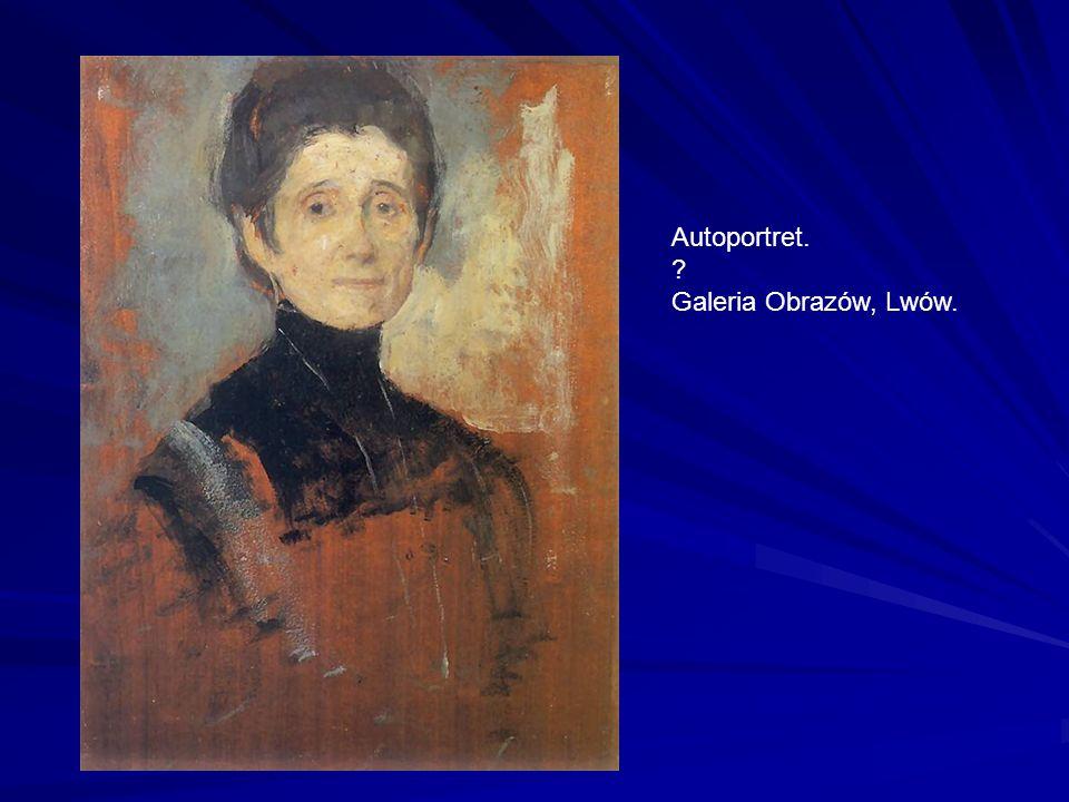 Autoportret. Galeria Obrazów, Lwów.