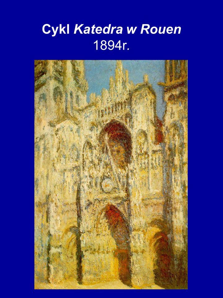 Cykl Katedra w Rouen 1894r.