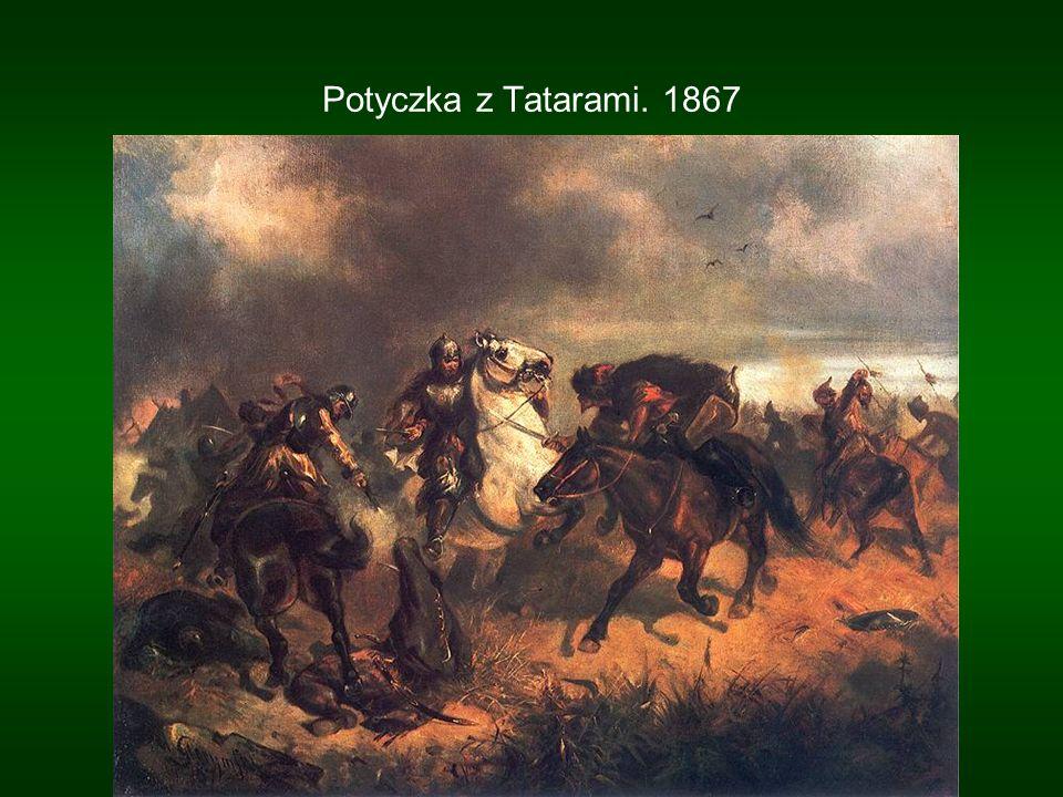 Potyczka z Tatarami. 1867