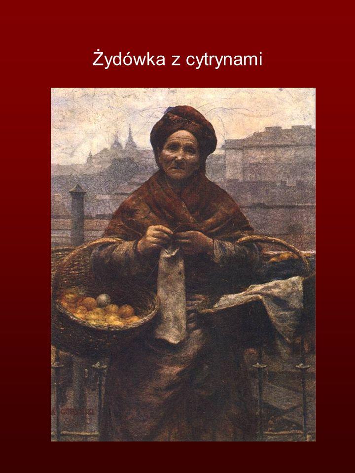 Żydówka z cytrynami