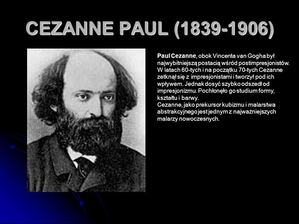 CEZANNE PAUL (1839-1906)
