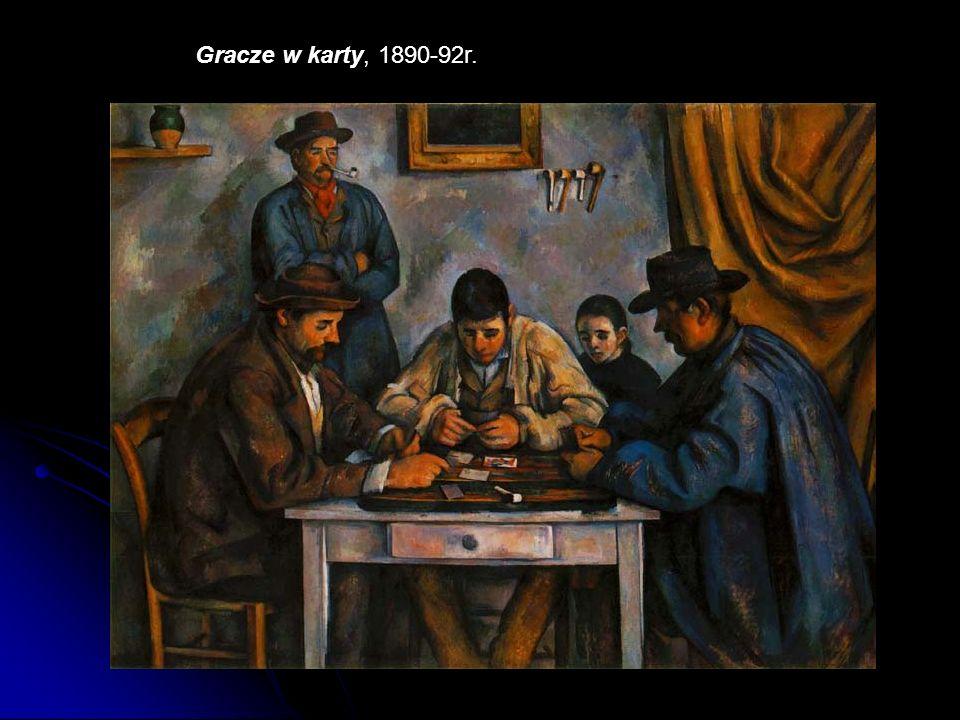 Gracze w karty, 1890-92r.