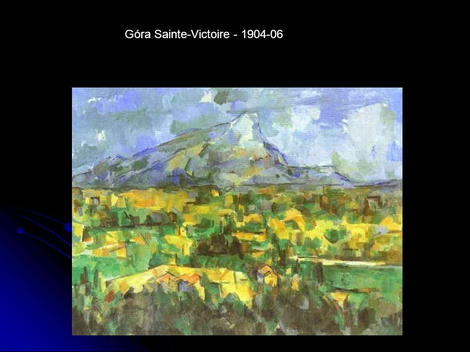 Góra Sainte-Victoire - 1904-06