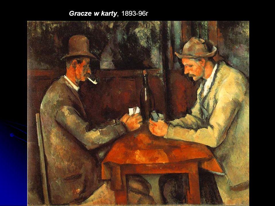 Gracze w karty, 1893-96r