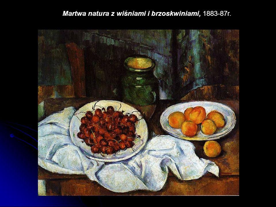 Martwa natura z wiśniami i brzoskwiniami, 1883-87r.