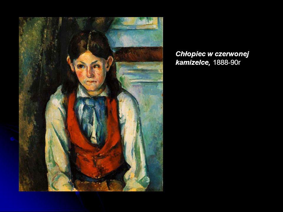 Chłopiec w czerwonej kamizelce, 1888-90r