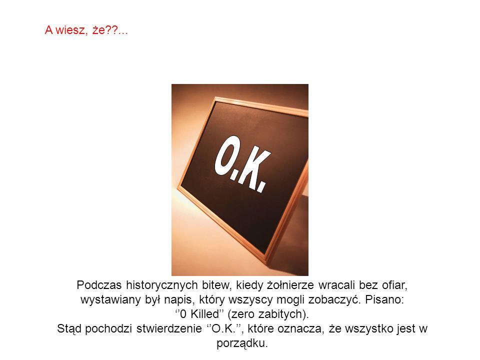 ''0 Killed'' (zero zabitych).