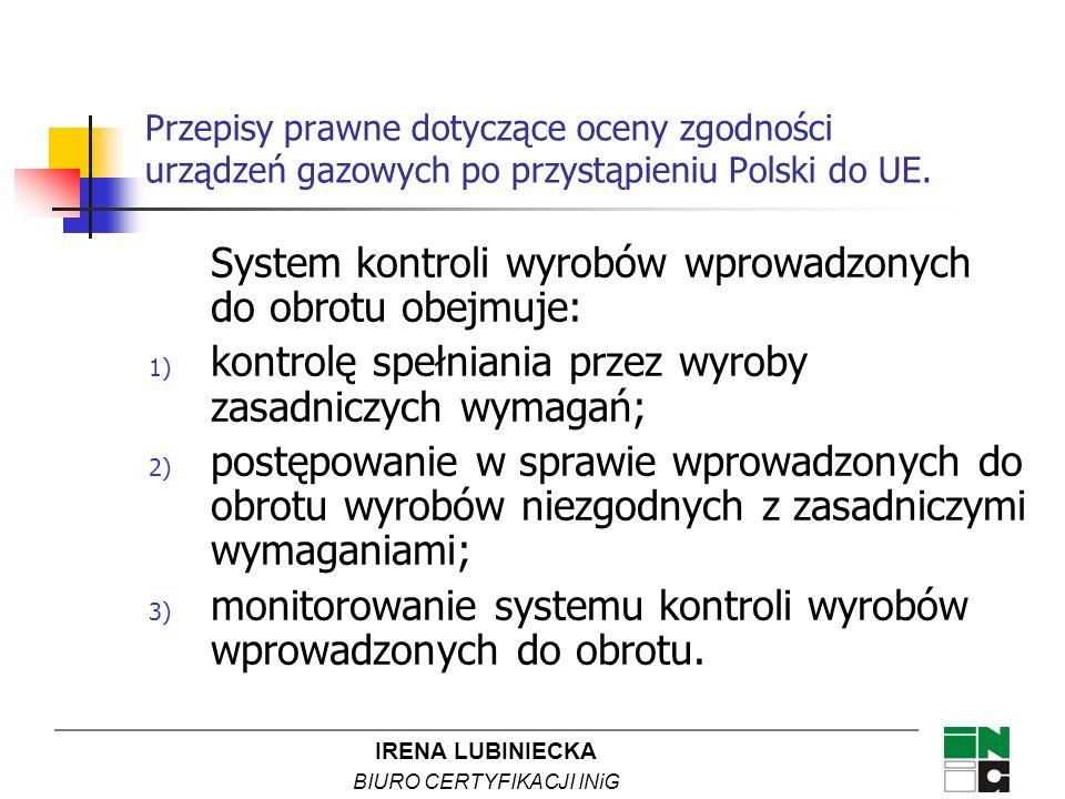 System kontroli wyrobów wprowadzonych do obrotu obejmuje: