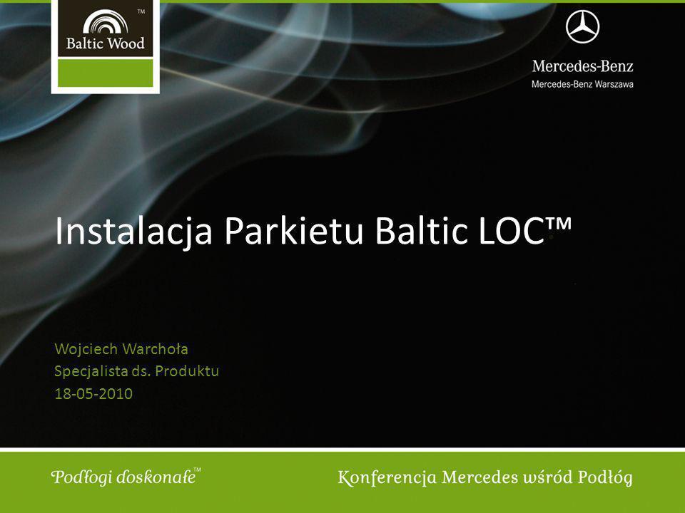 Instalacja Parkietu Baltic LOC™