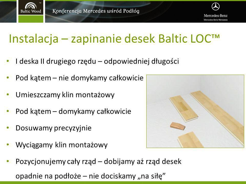 Instalacja – zapinanie desek Baltic LOC™