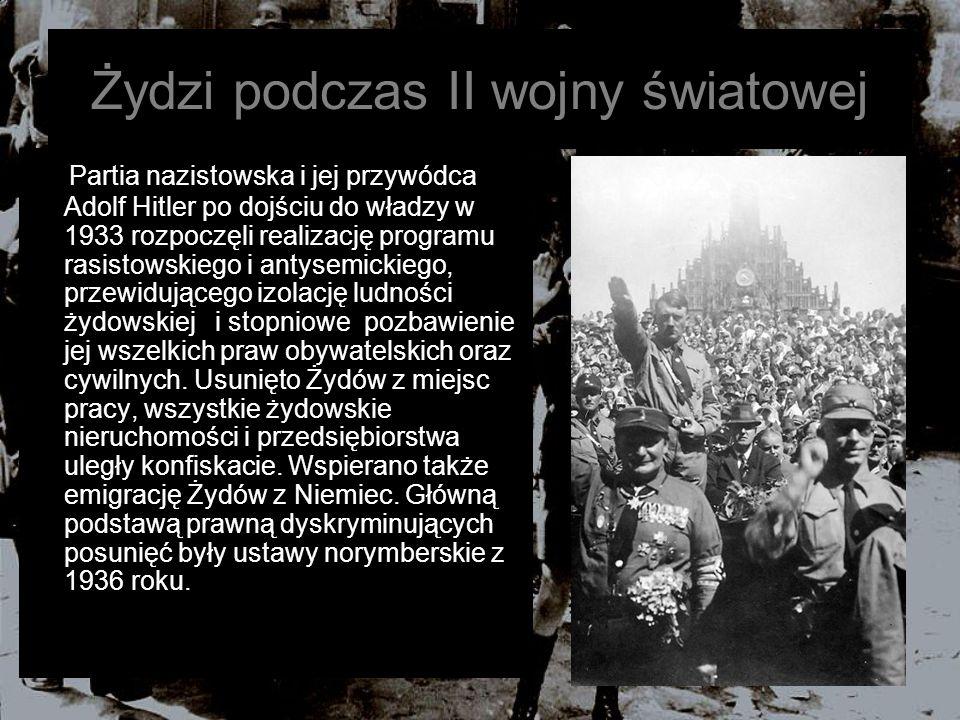 Żydzi podczas II wojny światowej