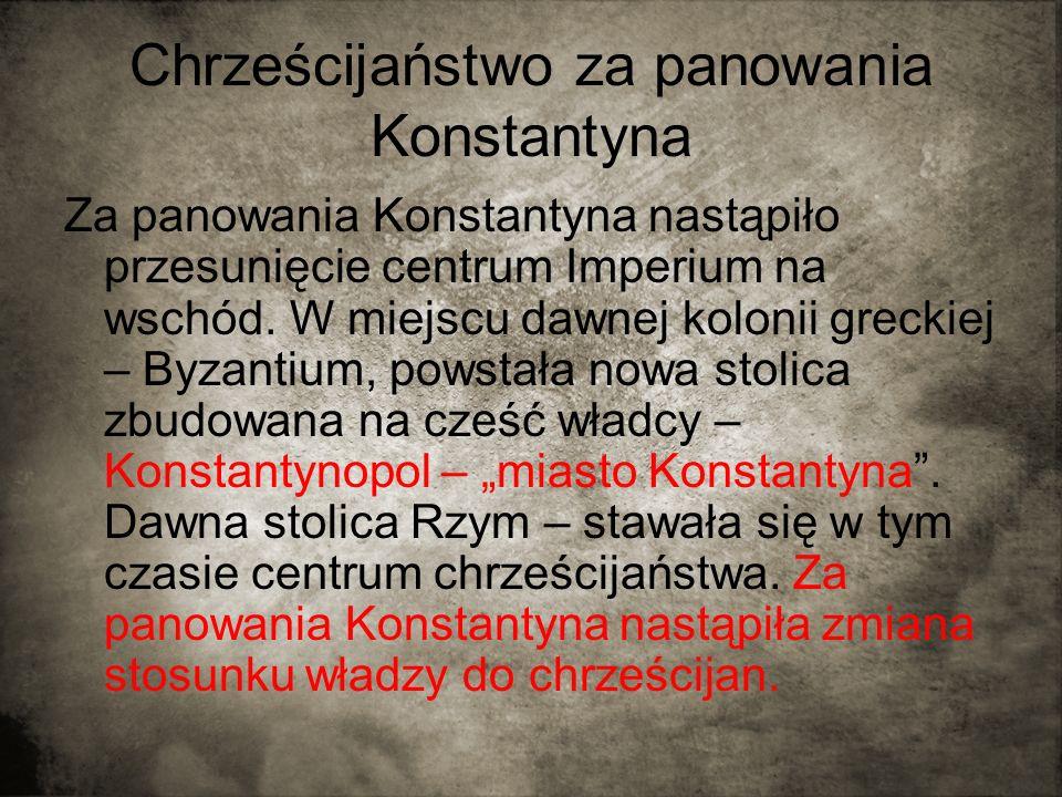 Chrześcijaństwo za panowania Konstantyna