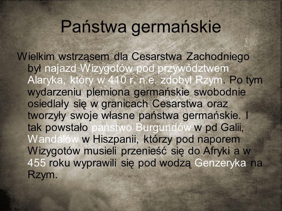Państwa germańskie