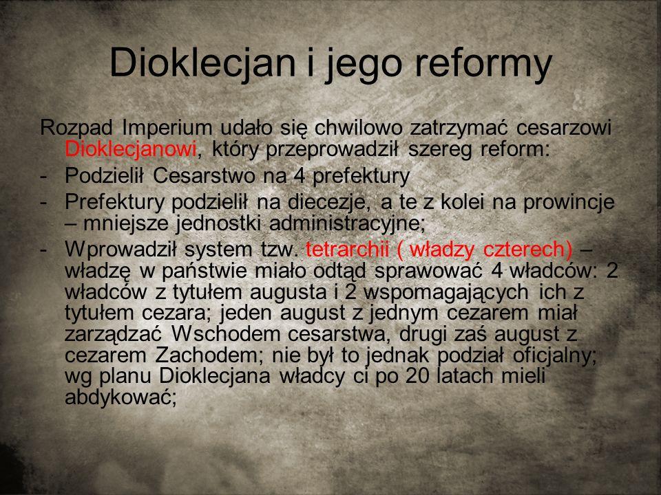 Dioklecjan i jego reformy