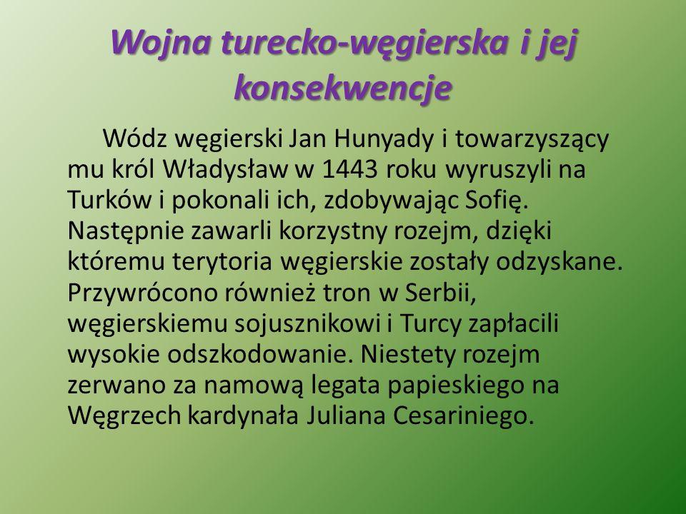 Wojna turecko-węgierska i jej konsekwencje